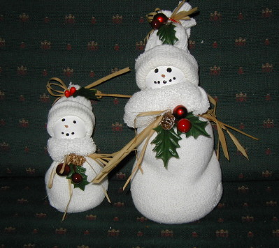 snowman socks